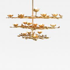 Garden Chandelier with Gold Finish - 387750
