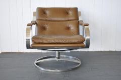 Gardner Leaver Gardner Leaver for Steelcase Leather Lounge Chair - 378311