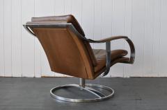 Gardner Leaver Gardner Leaver for Steelcase Leather Lounge Chair - 378312