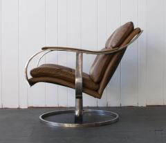 Gardner Leaver Gardner Leaver for Steelcase Leather Lounge Chair - 378315