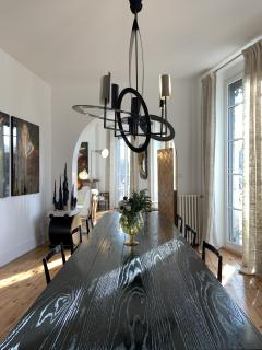 Gareth Devonald Smith ELLIPSE Bronze Chandelier - 1250072