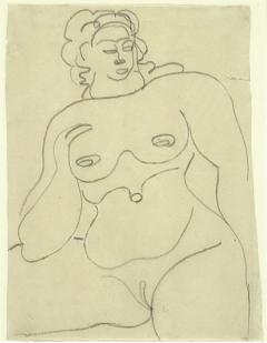 Gaston Lachaise Female Nude - 1127900