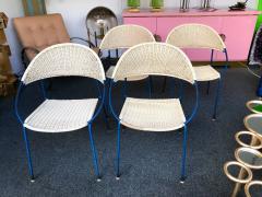 Gastone Rinaldi 10 Chairs model DU41 by Gastone Rinaldi for RIMA Italy 1956 - 848045