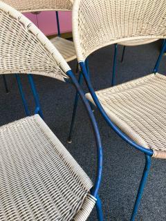 Gastone Rinaldi 10 Chairs model DU41 by Gastone Rinaldi for RIMA Italy 1956 - 848046