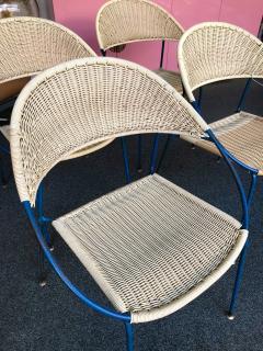 Gastone Rinaldi 10 Chairs model DU41 by Gastone Rinaldi for RIMA Italy 1956 - 848047