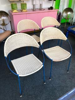 Gastone Rinaldi 10 Chairs model DU41 by Gastone Rinaldi for RIMA Italy 1956 - 848050
