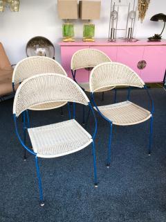 Gastone Rinaldi 10 Chairs model DU41 by Gastone Rinaldi for RIMA Italy 1956 - 848052