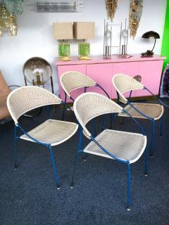 Gastone Rinaldi 10 Chairs model DU41 by Gastone Rinaldi for RIMA Italy 1956 - 848053