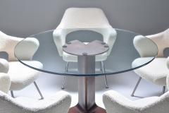 Gastone Rinaldi Gastone Rinaldi P16 armchairs in boucl wool 1950s - 1268888