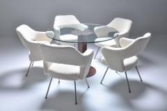 Gastone Rinaldi Gastone Rinaldi P16 armchairs in boucl wool 1950s - 2039000