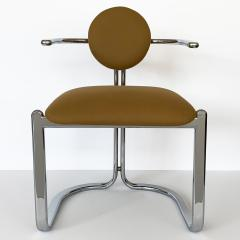 Gastone Rinaldi Pair of Chrome Armchairs by Gastone Rinaldi for Thema Italy - 1096781