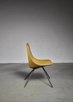 Gastone Rinaldi Rare Gastone Rinaldi DU 30 Chair for RIMA 1950s - 1036375