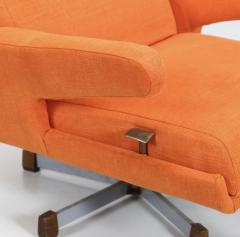 Gastone Rinaldi Rare Swivel Armchair P74 by RIMA - 2115580