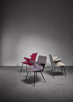 Gastone Rinaldi Set of 3 Gastone Rinaldi DU20 side chairs Italy - 1208981