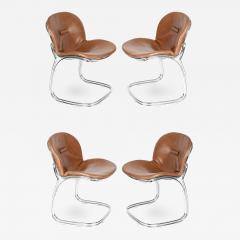 Gastone Rinaldi Set of Four Sabrina Chairs by Gastone Rinaldi for RIMA circa 1970s - 679515