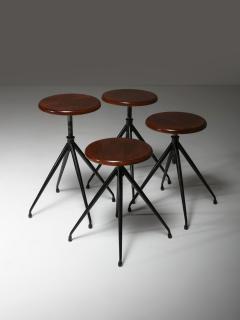 Gastone Rinaldi Set of Four Stools Model A105 by Gastone Rinaldi for Rima - 1193730