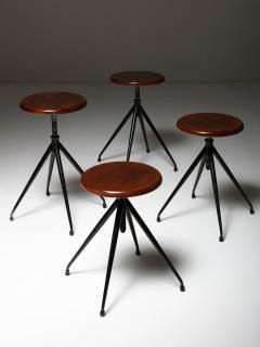 Gastone Rinaldi Set of Four Stools Model A105 by Gastone Rinaldi for Rima - 1193731