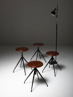 Gastone Rinaldi Set of Four Stools Model A105 by Gastone Rinaldi for Rima - 1193733