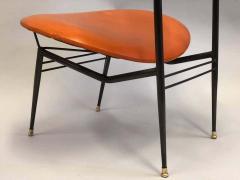 Gastone Rinaldi Two Pairs of Italian Mid Century Modern Lounge Chairs by Gastone Rinaldi - 1599319