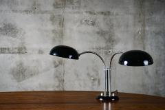 Gecos Black Painted Double Swivel Arm Desk Lamp - 193578