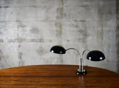 Gecos Black Painted Double Swivel Arm Desk Lamp - 193580