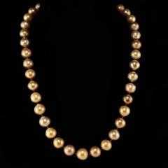 Gemjunky 21 Inch Famed Edison Pearl multi color necklace - 1792392