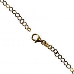 Gemjunky 40 Inch 14K Yellow Gold Sparkling Chain - 2006692