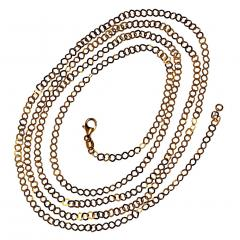 Gemjunky 40 Inch 14K Yellow Gold Sparkling Chain - 2006694