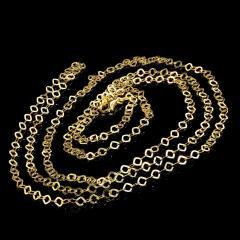 Gemjunky 40 Inch 14K Yellow Gold Sparkling Chain - 2006696