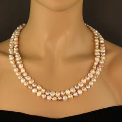 Gemjunky 60 continuous inches of gorgeous Pearls - 1949358