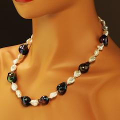 Gemjunky Pearls and More Pearls Elegant 21 inch necklace - 1926830