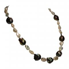 Gemjunky Pearls and More Pearls Elegant 21 inch necklace - 1927235