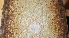 Genaro Alvarez Atomic Design Mosaic Tile Coffee Table by Genaro Alvarez Mexico circa 1955 - 1661634
