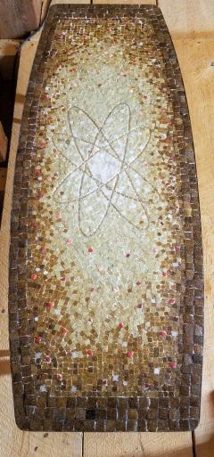 Genaro Alvarez Atomic Design Mosaic Tile Coffee Table by Genaro Alvarez Mexico circa 1955 - 1661640