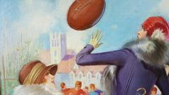 Gene Pressler Ladies at a Football Game - 1059321