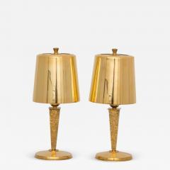 Genet et Michon Art deco table lamps by Genet and Michon - 1883644