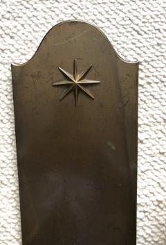 Genet et Michon Genet Michon vintage extreme quality bronze sconces - 1057619