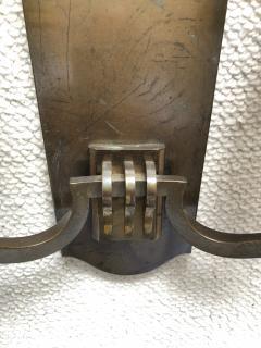Genet et Michon Genet Michon vintage extreme quality bronze sconces - 1057620