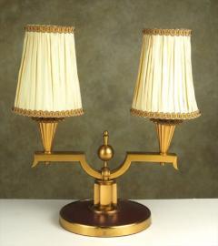 Genet et Michon Genet et Michon Pair of Gilt Bronze Lamps 1940 - 1590979