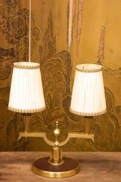 Genet et Michon Genet et Michon Pair of Gilt Bronze Lamps 1940 - 1591061