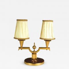 Genet et Michon Genet et Michon Pair of Gilt Bronze Lamps 1940 - 1592291
