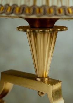 Genet et Michon Genet et Michon Pair of Gilt Bronze Lamps - 1570040