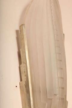 Genet et Michon Pair of Art Deco Wall Sconces by Genet et Michon - 1436018
