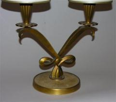 Genet et Michon Pair of French Art Deco Table Lamps by Genet et Michon - 1422714