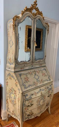 Genoese Bureau Bookcase Scrivania a ribalta con alzata  - 1026633