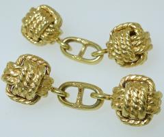 Gentlemans Gold Cufflinks - 1139647