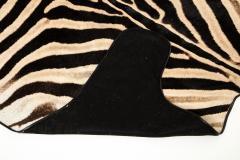 Genuine Zebra Rug - 899951