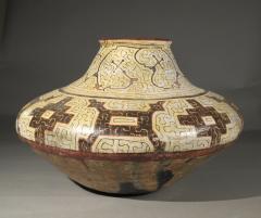 Geometric Ceramic Shibipo jar - 725310