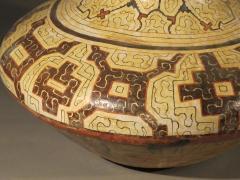 Geometric Ceramic Shibipo jar - 725313