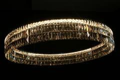 Georg Baldele GLITTERHOOP SAPPHIRE minimalist crystal chandelier - 1446663